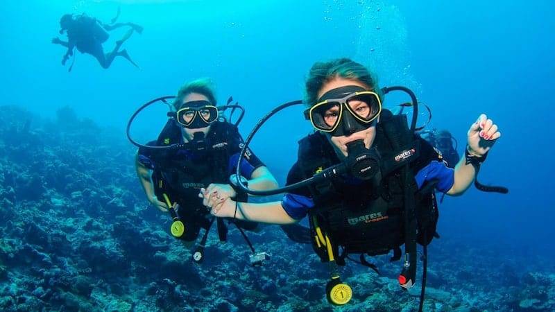 Diving in Playa del Carmen