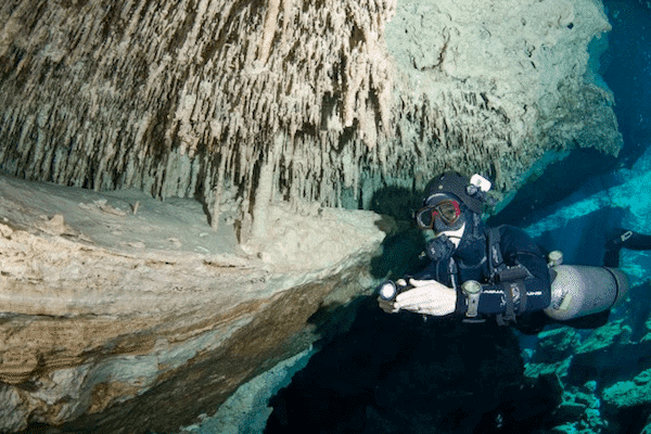 Cave in Tulum
