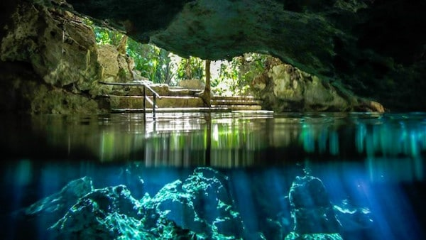 Cenote tauchen mexiko