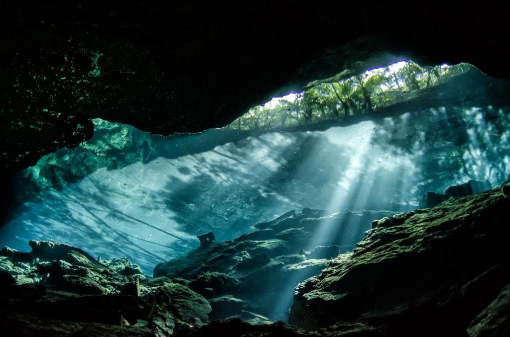 Grottentauchen Mexiko