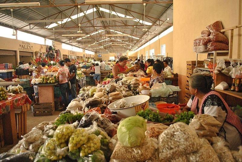 Markt in Valladoid